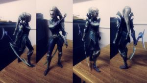 League of Legends - Diana Papercraft by alicestuff