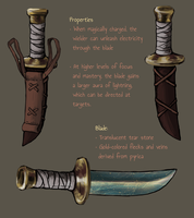 Tribute Dagger by KytCordell