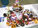 ACen Cake Display by zetallis