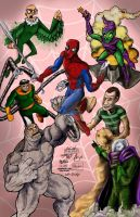 Sinister Six Collab Piece by keelhaulkate