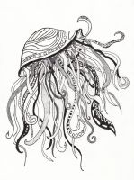 Abstract Jellyfish by the-twisted-vine