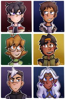 Voltron Icons by apanda54