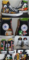 Awesome Mario Chucks by Paradox-Artistry