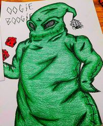 Oogie Boogie by rainbowthefox