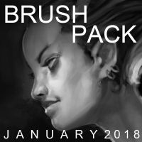 John Thacker Brush Pack January 2018 by JohnoftheNorth