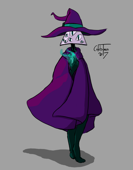 The Triangle Sorcerer by colebotman