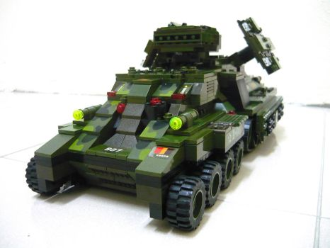 Lego Mirage Tank 'Mix' 8 by SOS101