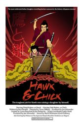 Hawk and Chick Movie Poster by adamclark