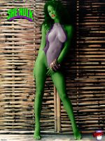 She-Hulk by TheDemonEtrigan