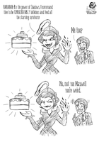 DS: No Cake for Maxwell by Aileen-Rose