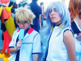 Romics 2009 - Roxas and Riku by Ottachan