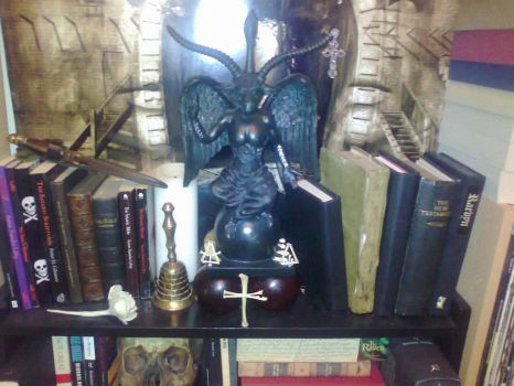 Baphomet by TheRaevyn13