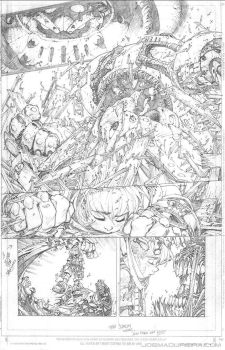 Battle Chasers Pencils by oshawainker