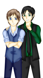 Doncaster Bros by Tika--asrul