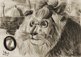 Cowardly Lion by SulaimanDoodle