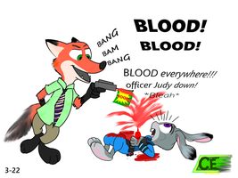 Zootopia: Fox and Hoppers by comedyestudios