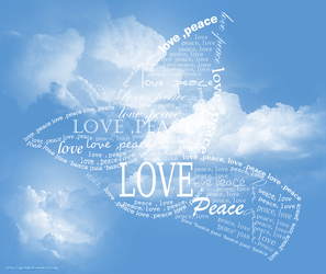 love and peace by Ghadi11