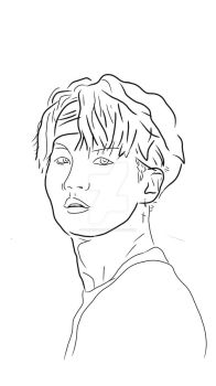 BTS-SUGA DIGITAL DRAWING (Min Yoongi)  by FlashStar26