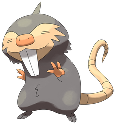 #??? Fossorat by Smiley-Fakemon