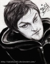Daryl Dixon - the walking dead by zelldinchit
