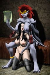 The Baroness and Demona by Malcolmd