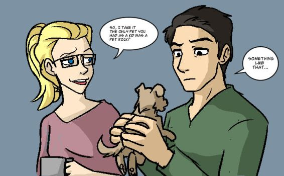 Ray Palmer has Doge by Impious-Imp