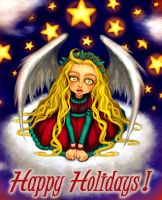Holiday Card Project - Happy Holidays! by Tetrismede