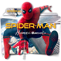Spider-Man Homecoming movie folder icon v2 by zenoasis