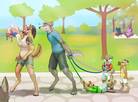 ''It's so nice out today!'' by possim