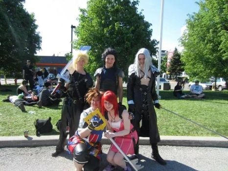 Friends at Anime North 2014 by Shadow-Ryuu