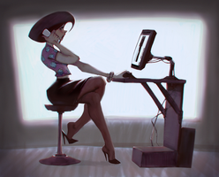Secretary Sue by Sycra