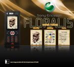 Floralis Theme for SE W880i by deviantdark