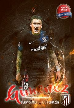 Jose Maria Gimenez-Atletico Madrid by InfiernoRojiblanco