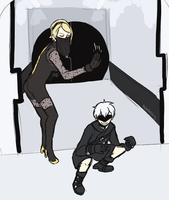 9S go do ur missions by iPerkis