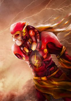 mecha suit THE FLASH by bionicdirections
