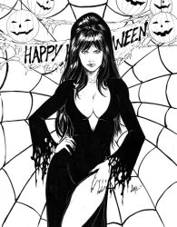 Elvira Mistress Of The Dark by CaioMarcus-ART