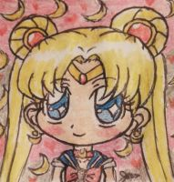 Sailor moon (Usagi Tsukino) by Pinksillycupcake