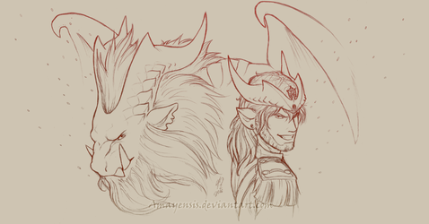 Ask-Teostra banner by Amayensis