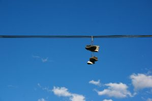 Shoes in the Flagstaff Sky by Dr-J-Zoidberg