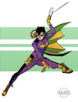 Quick Batgirl by ParisAlleyne