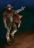 overwatch mccree by DGPark