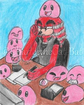 {Comm} Steppenwolf and the Pink Slimes by CharleetheCat-Bat