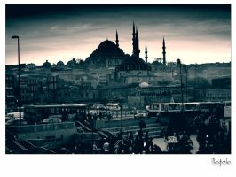 istanbul eminonu by illegale