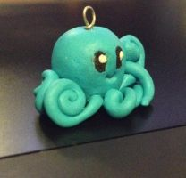 Octopus charm - Clay by MiniMushies