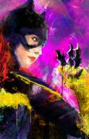 BatGirl Aka Barbara Gordon by j2Artist