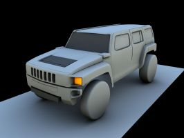 HUMMER H3 by Artificialproduction