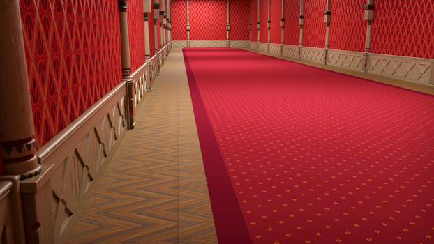 Hall Castle - WIP by MyVoltex21