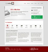 Computer and IT Related Service Website by hamdirizal