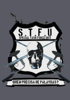 STFU - Paintball Team by LucasCoppio