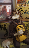 on my way by Orphen-Sirius